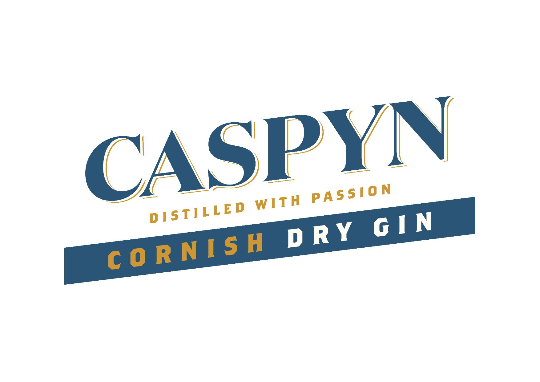 Caspyn distilled with passion cornish dry gin