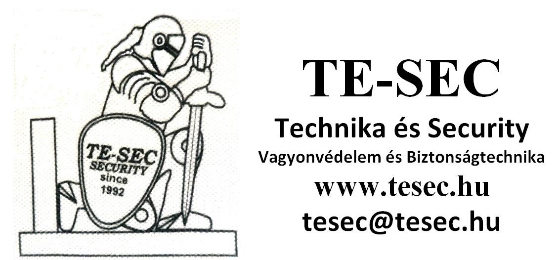 TE-SEC Technika és Security Vagyonvédelem és Biztonságtechnika